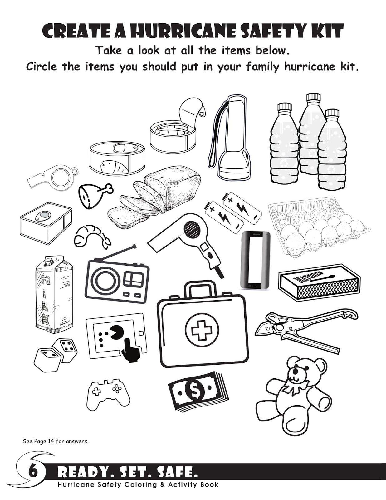 Hurricane Activity Book