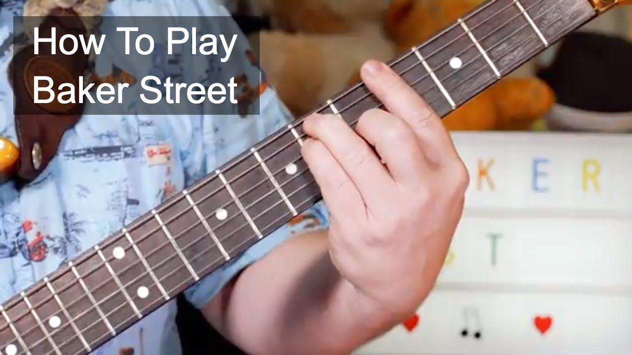 Baker street gerry rafferty guitar lesson guitar