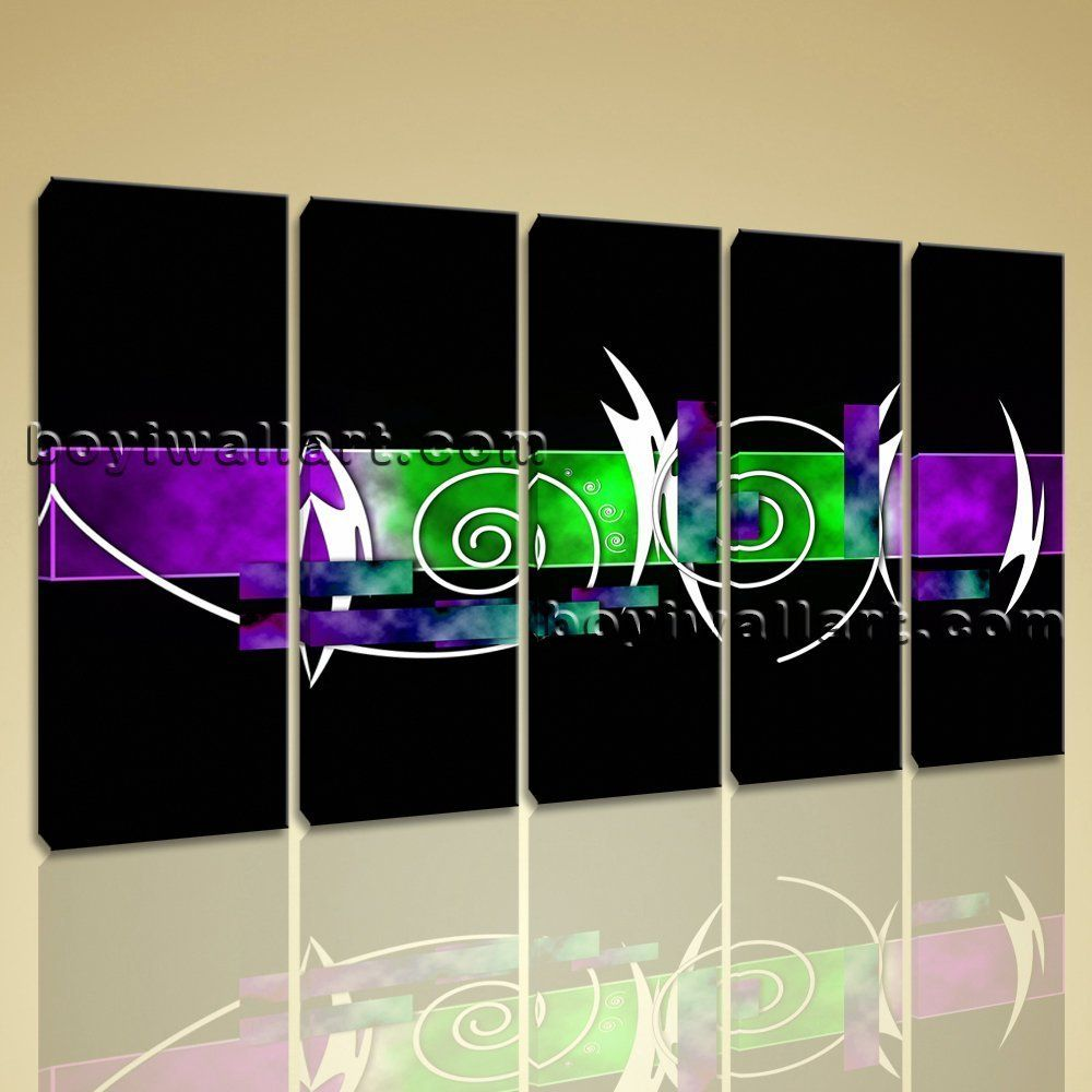 Large panels modern abstract painting hd print on canvas wall art