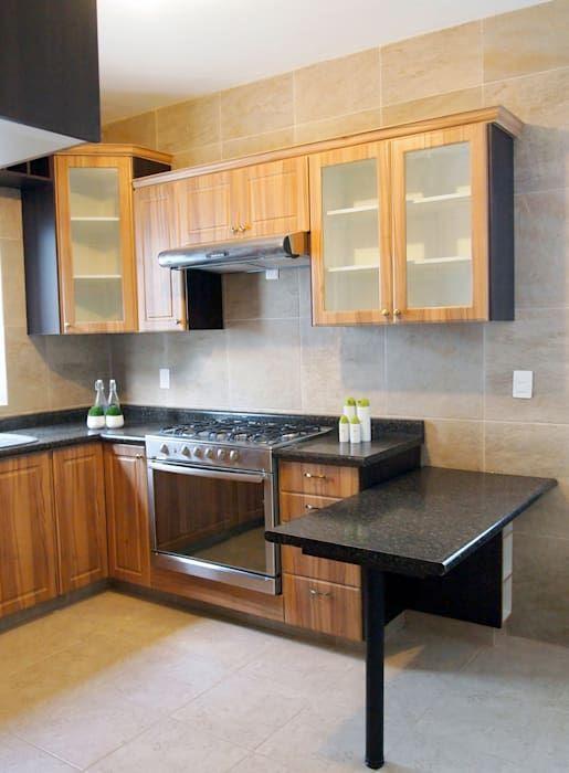 Cocinas de estilo rústico por Amarillo Interiorismo | Kitchen idea ...