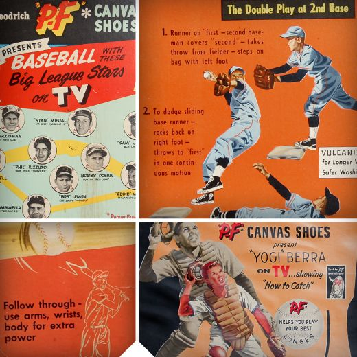 PF Flyers ad from early 1960u0027s My PF Flyers Pinterest - baseball flyer
