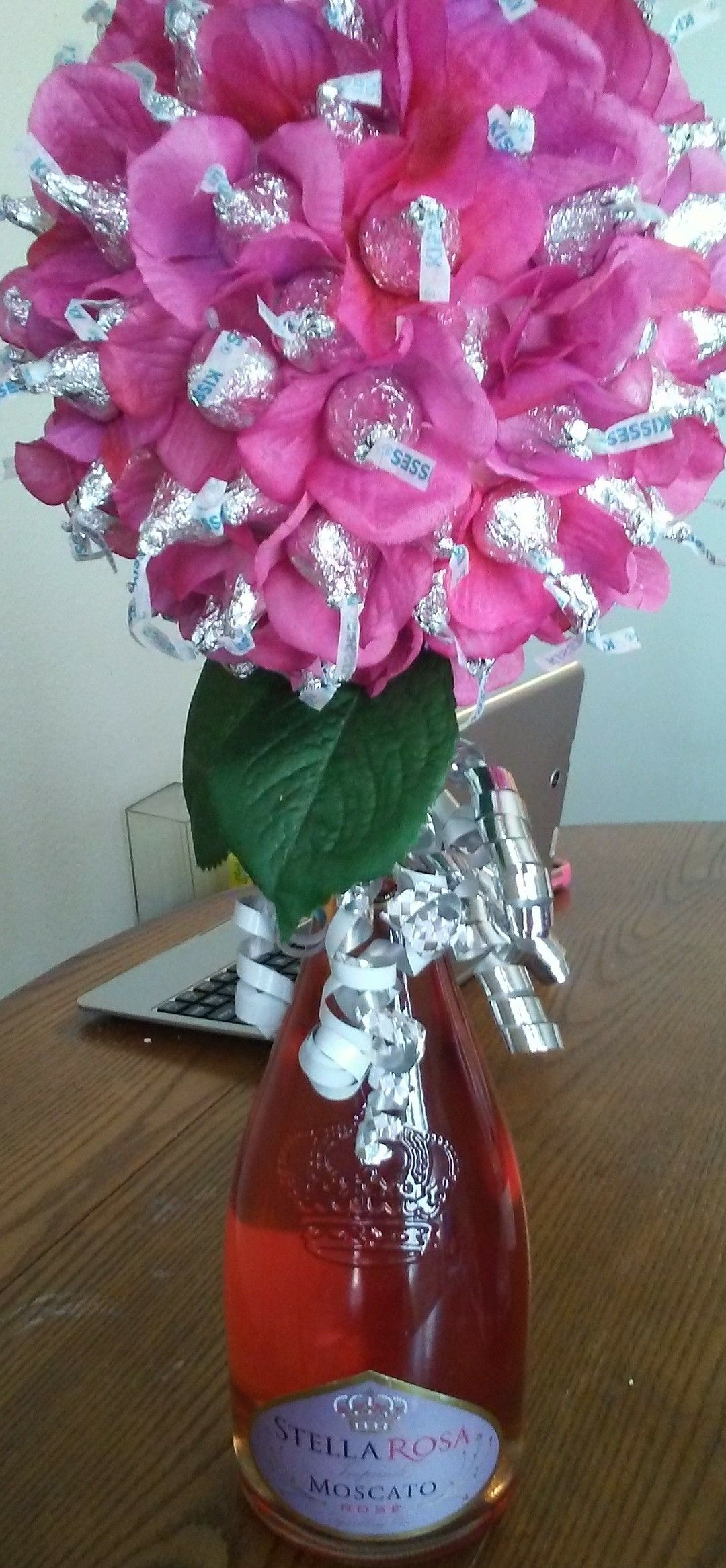 Stella Rosa hershey kiss flowers | My Creations | Pinterest | Craft