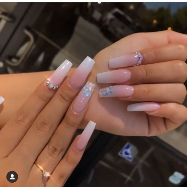 Ivonne Tiscareno Longnailsdontcare Instagram Photos And Videos In 2020 Long Square Acrylic Nails Square Acrylic Nails Ombre Acrylic Nails