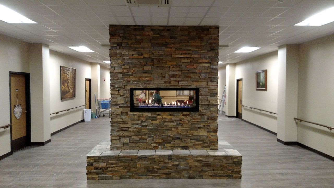 Fireplaces Stoves Zillges Spa Landscape Fireplace Gas Pinterest Stove