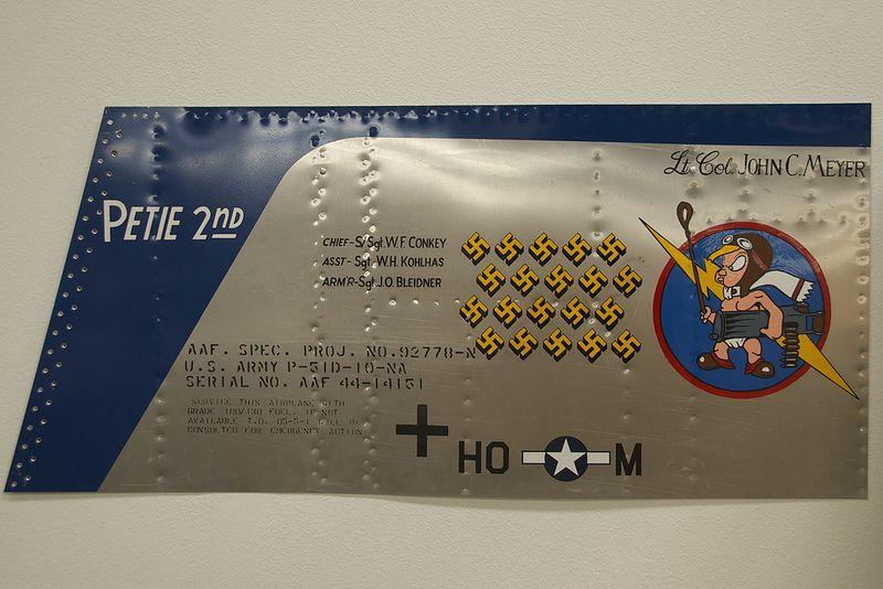 North American P-51D Mustang, Petie 2nd, Nose Art, POF