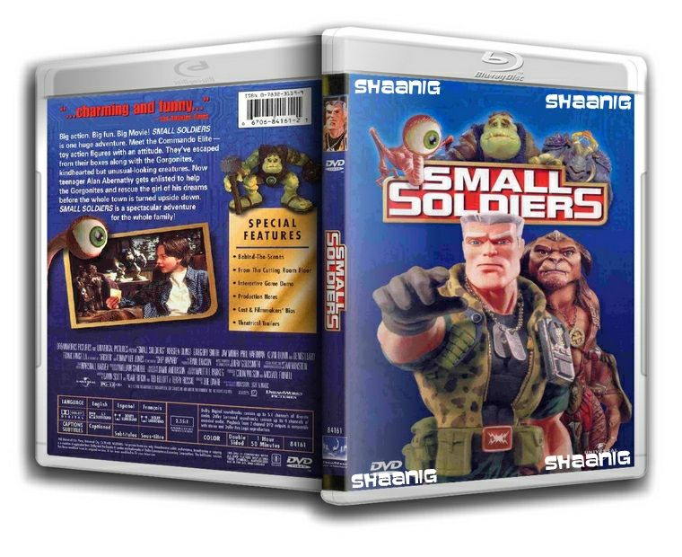 Small Soldiers (1998) 720p BluRay 800MB | 720p mkv Movies