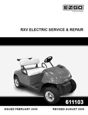 ezgo 611103 2009 current service and repair manual for e z go rh pinterest com 1996 ezgo txt electric service manual Ezgo TXT Gas Wiring