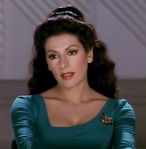 Hot Images Of Marina Sirtis | ... Betazoid - Star Trek The Next Generation - Deanna Troi - Marina Sirtis