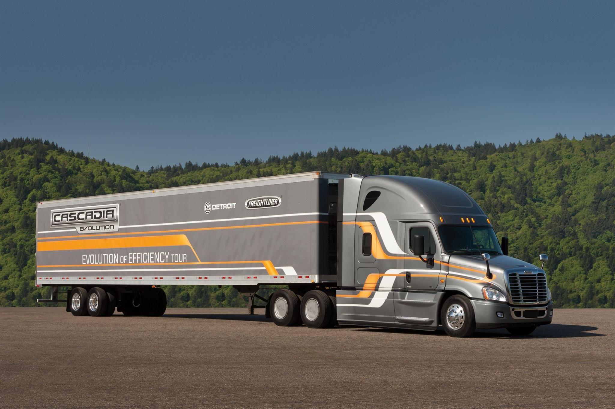 Freightliner Cascadia Evolution Trucks Freightliner Trucks Freightliner