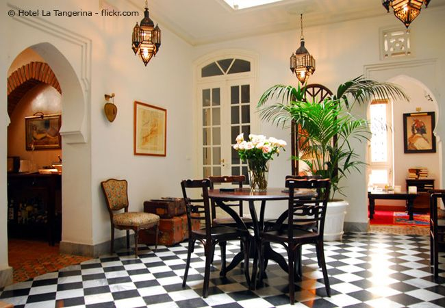 Hotel Dar Rhizlane Palais Table du0027hôtes \ Spa, Marrakesch, Marokko - wnde streichen kolonialstil