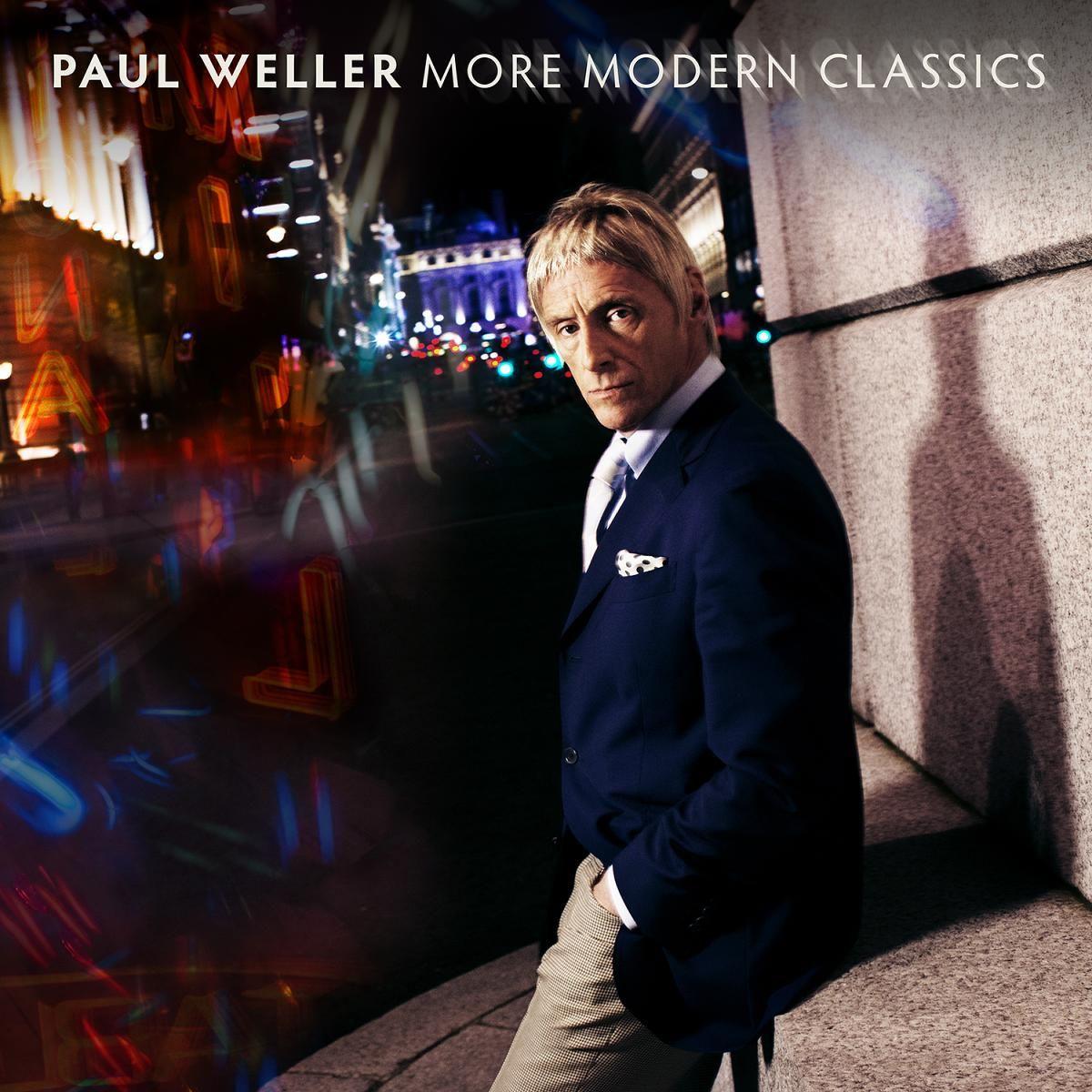 album cover art [05/2014]: paul weller ¦ more modern classics |
