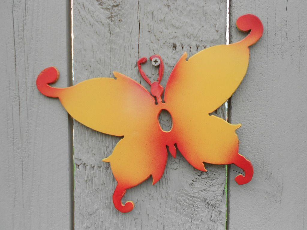 Butterfly wall art | Metal Art - Animals | Pinterest | Butterfly ...