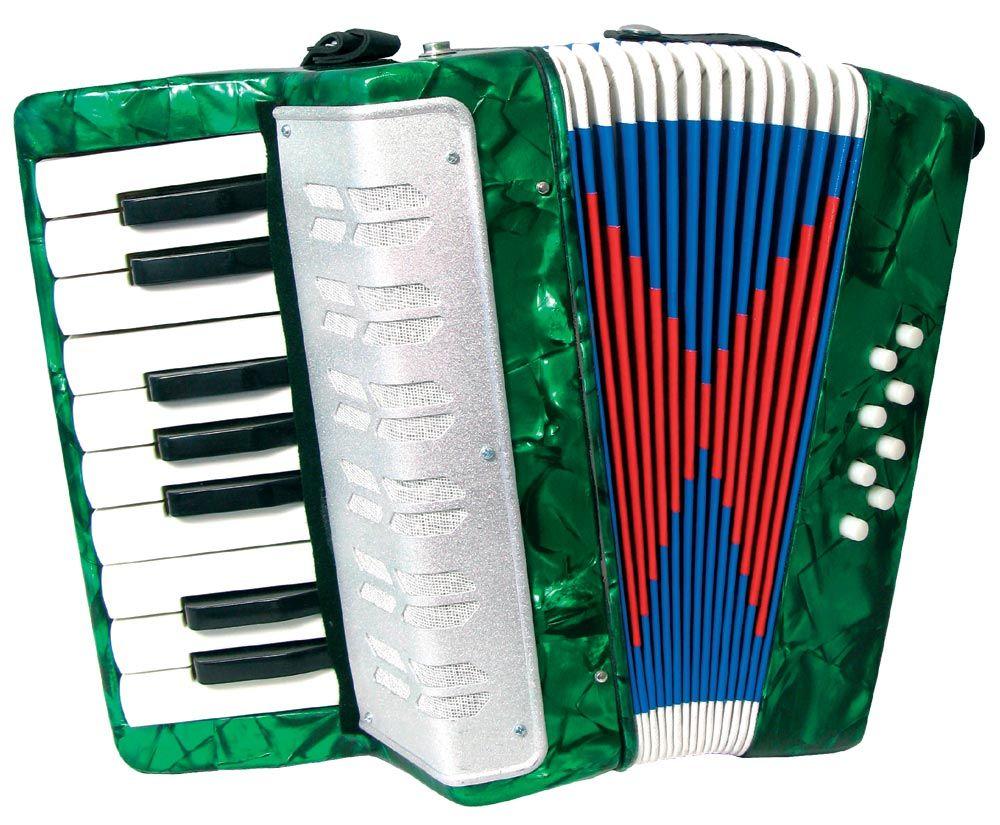 Scarlatti child Accordion, grn Hobgoblin Music Piano