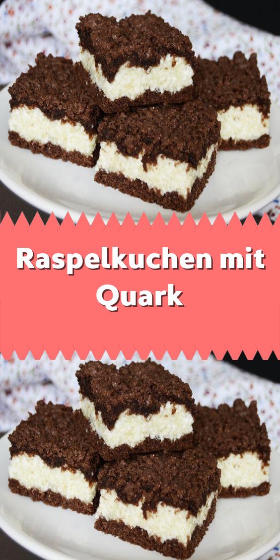 Raspelkuchen mit Quark