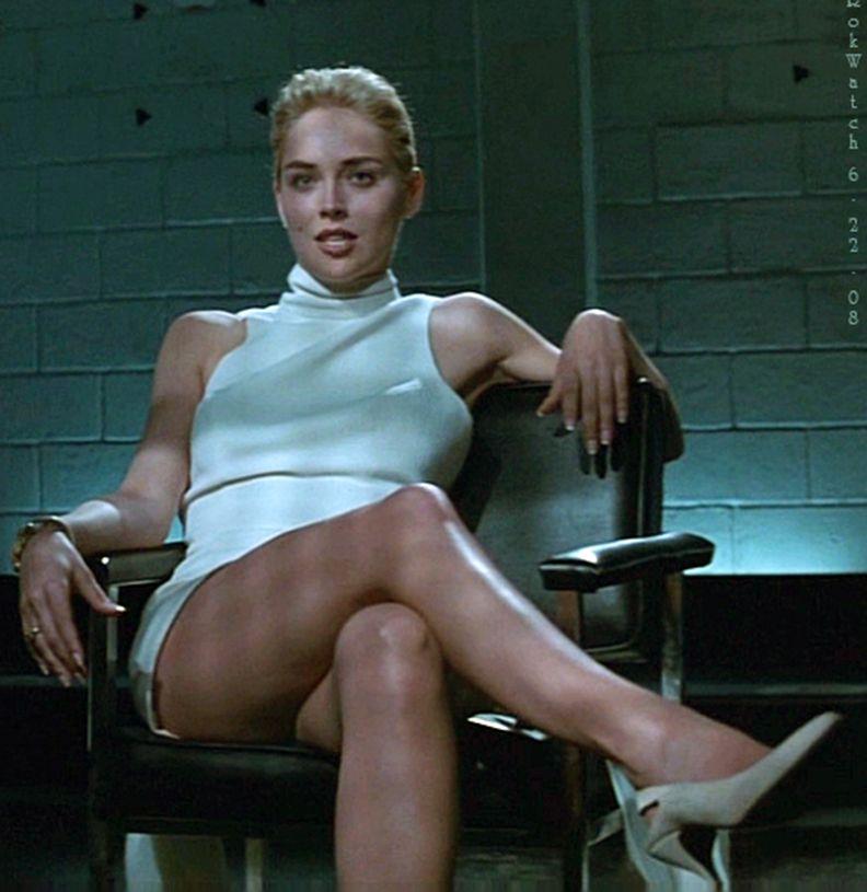 Sharon Stone Legs Nude
