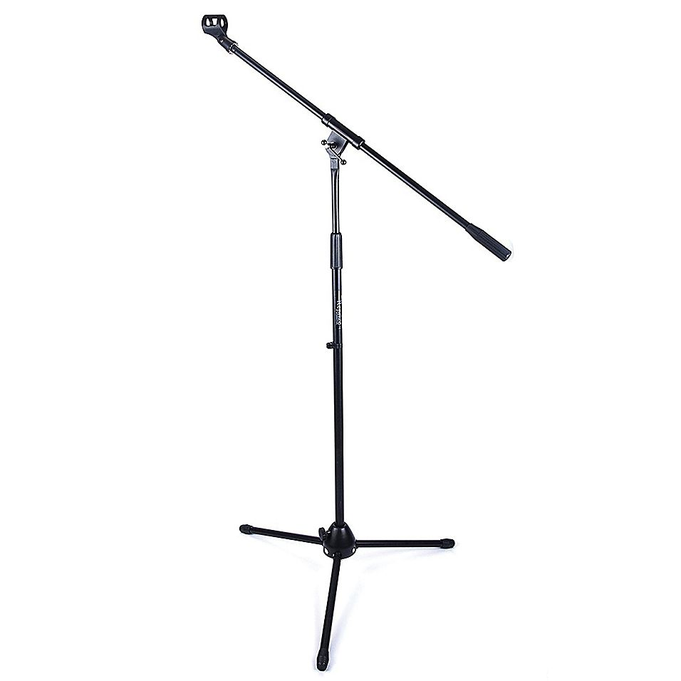 Reprize Microphone Stand In Black Bed Bath Beyond Microphone Stand Microphone Black Bedding