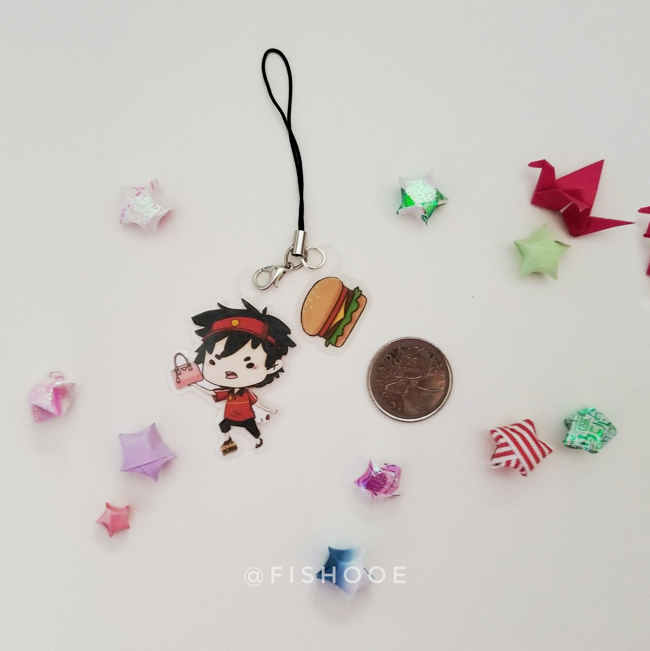 TDiaPT SADAO MAOU Keychain (Clear) [PRE-ORDER] by FISHOOE [ALL PRE ...
