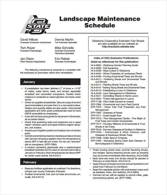 Maintenance Schedule Template u2013 17+ Free Word, Excel, PDF Format - free log sheet template
