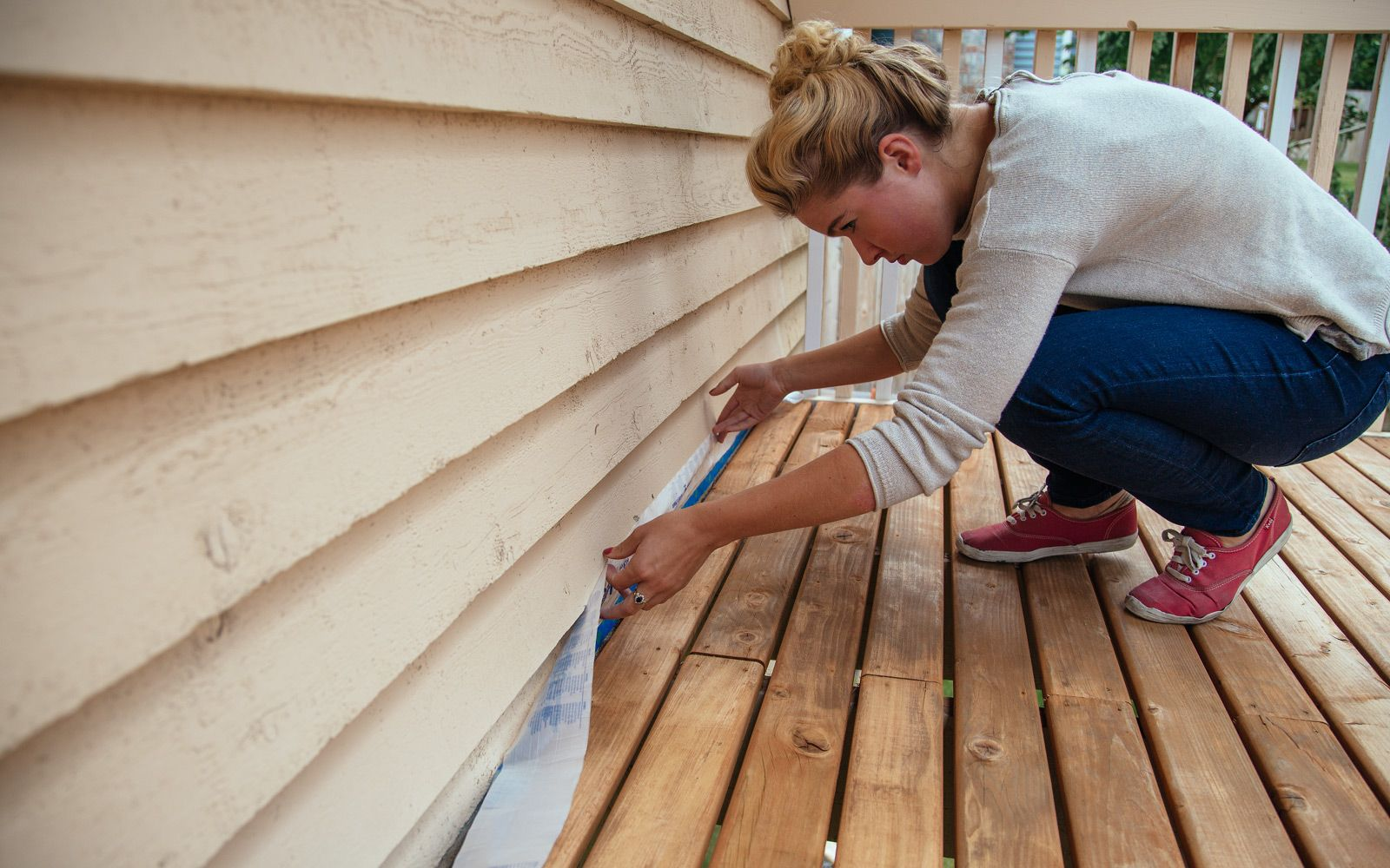 How to refinish a deck diy tips with images deck