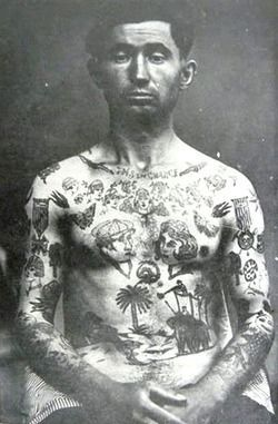 French prison tattoo tats pinterest tattoo criminal for 19th century tattoos