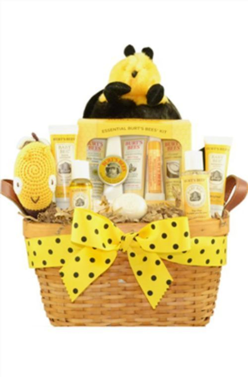 Baby And Mommy Burt S Bees Baby Gift Basket Baby Shower