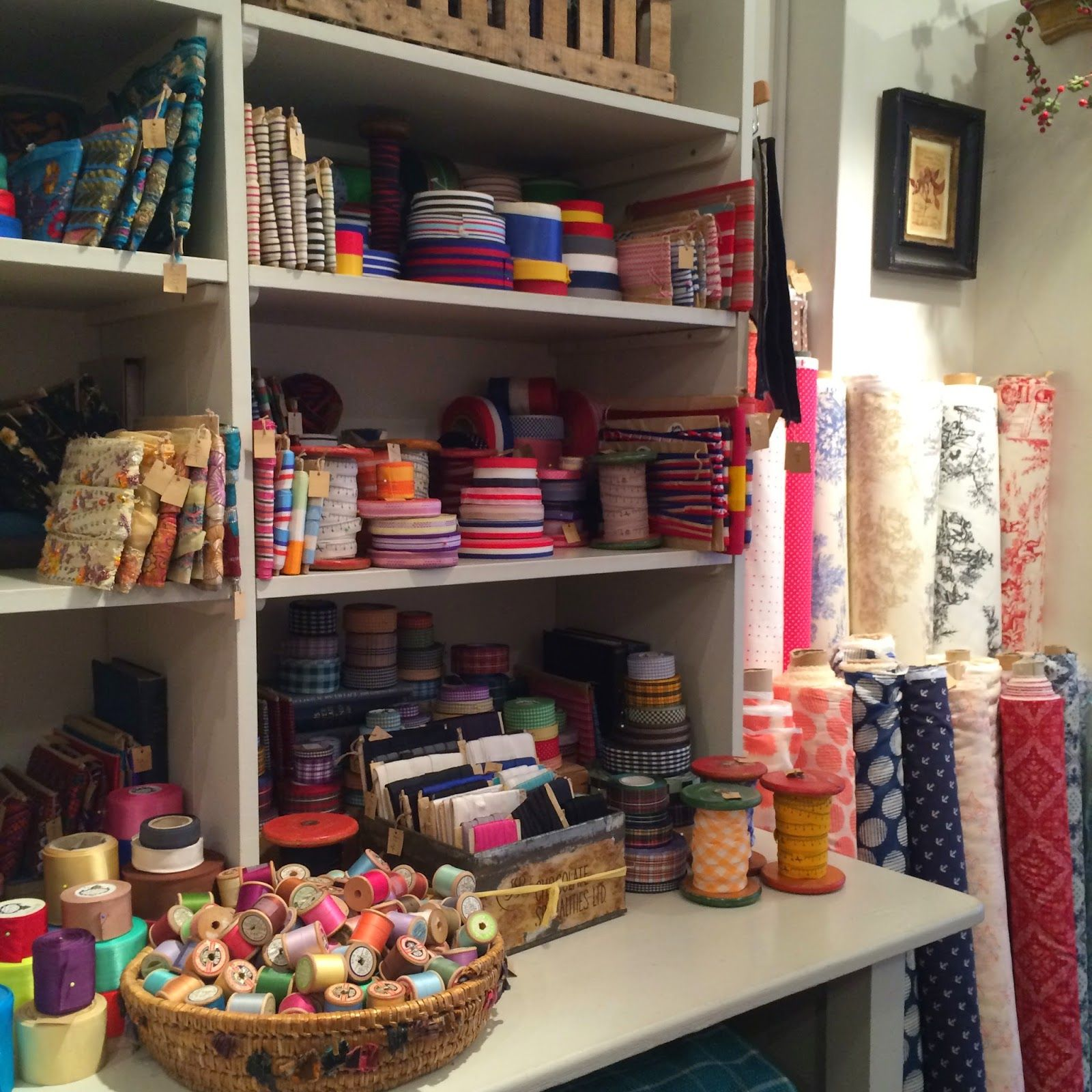 The Cloth House, London   Haberdashery, House and Purl soho : quilt shops london - Adamdwight.com