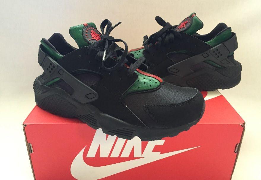 3c65e5beeaa8 Nike Huarache Gucci Colorway  Nike  Huarache  Huaraches  Fashion   CustomSneakers