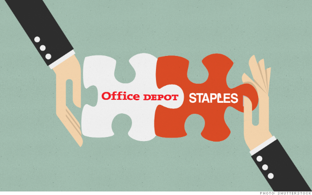 Wall Street bets on Staples-Office Depot marriage