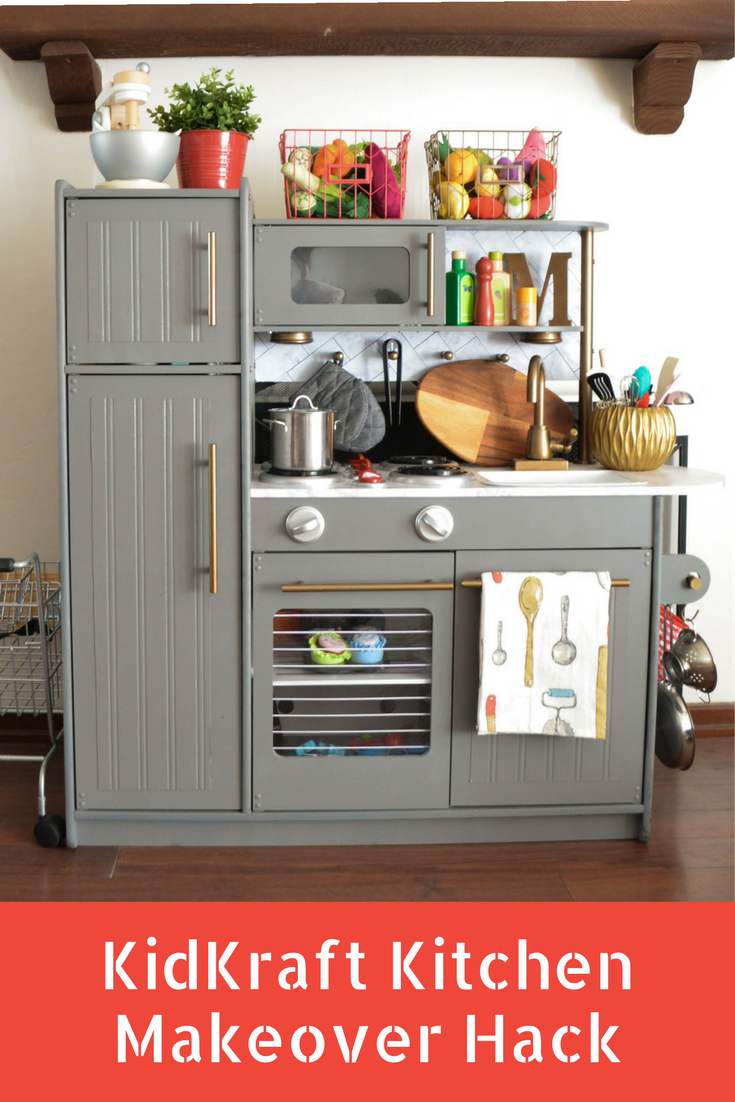 How To Hack Your Way Into This KidKraft Play Kitchen ...