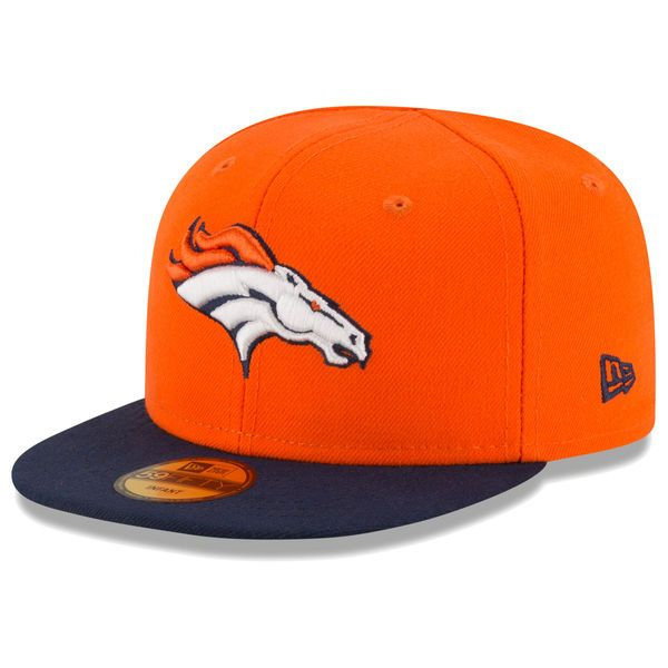 detailed look e80b2 89f66 Infant Denver Broncos New Era Orange My 1st 59FIFTY Fitted Hat,  19.99