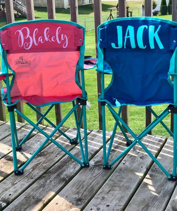 Personalized Kids Camping Chair Customized Kids Camping Chair