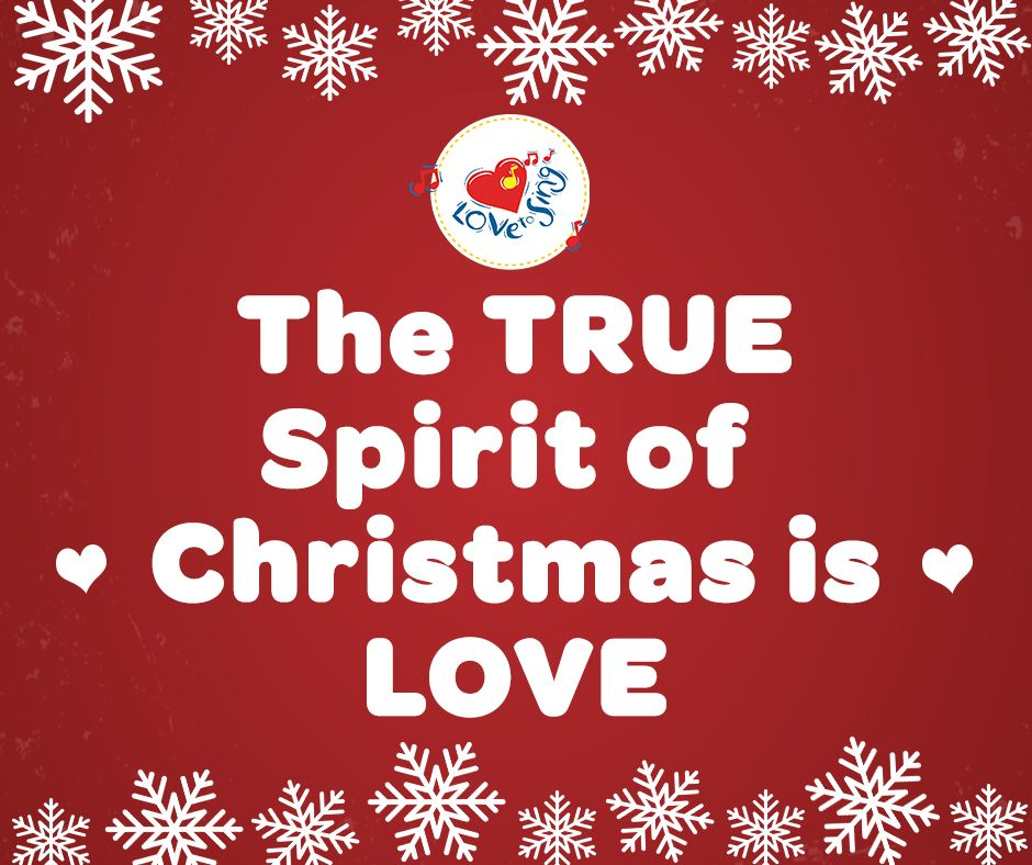 The TRUE spirit of Christmas is LOVE ♥️ #christmas #christmaslove #christmasjoy #merrychristmas #christmassongs #christmasmusic