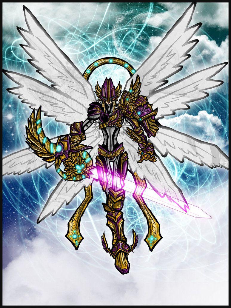 Magna Angemon: Gateway to Hope by ~Kiarou on deviantART ...