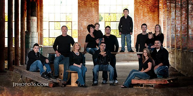 Family Portrait Poses | Large Family Poses - a gallery on Flickr