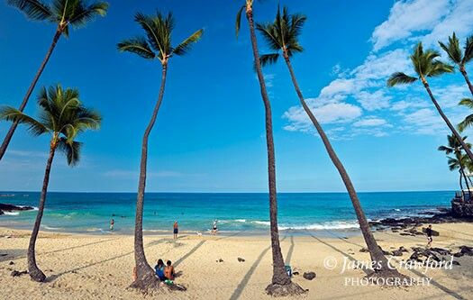 White Sands Beach Park Is Located On South S Of Island Hawaii And Known For Extreme Ocean Conditions Only Safe
