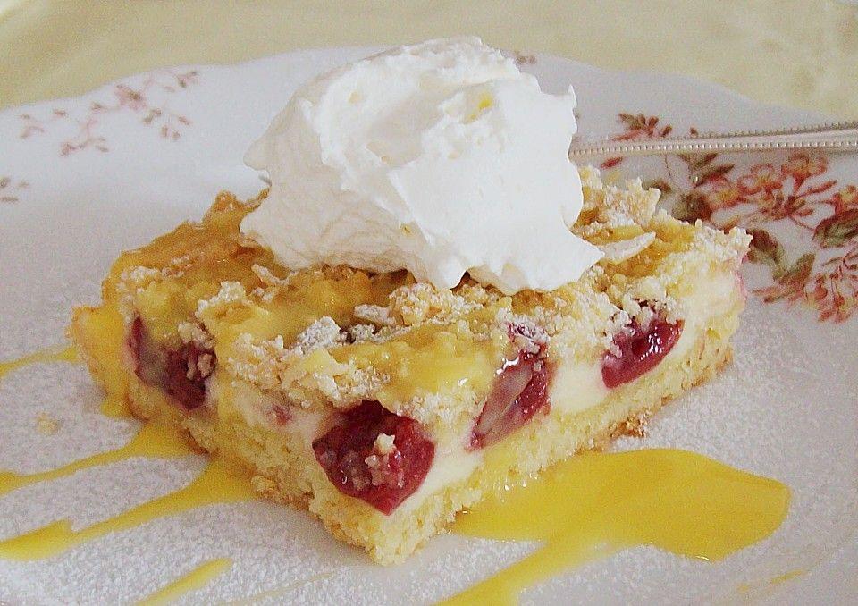 Schnelle Kirsch Quark Torte Torten Dessert Ideen Rezepte