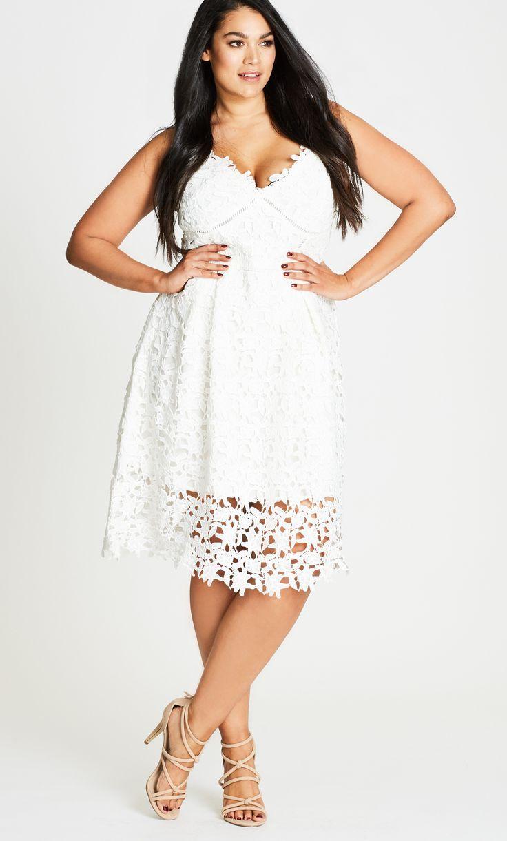Sonderangebot Kauf authentisch rationelle Konstruktion 12 Plus Size White Party Dresses | Fashion | Pinterest ...