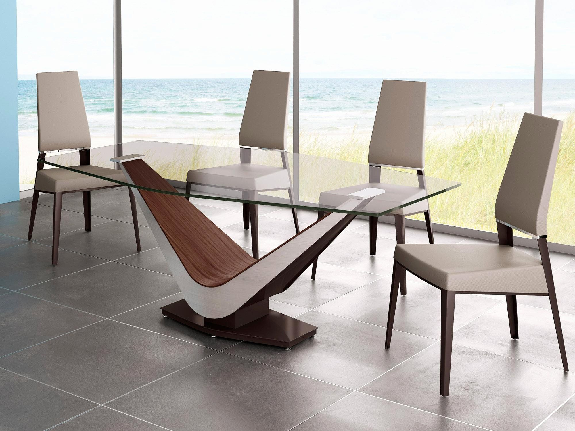 Glass Dining Room Table Bases New Ideas To Make Table Base For