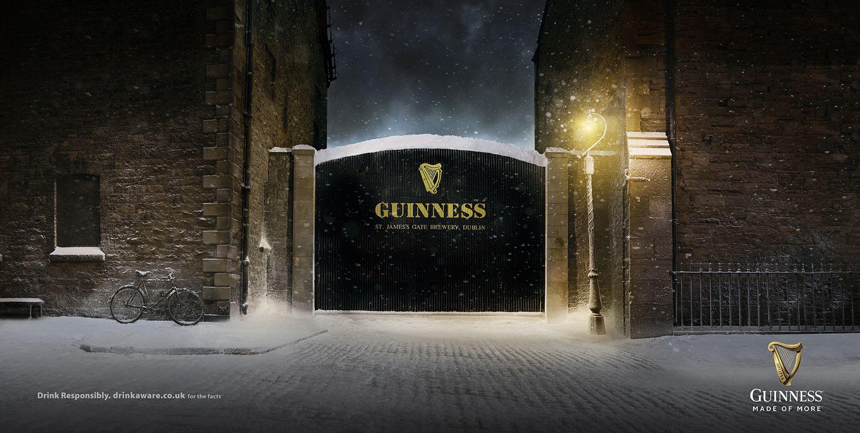 Alex Telfer Guinness Christmas Advertising Photography