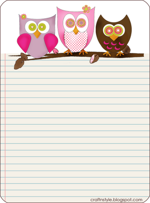 Owl paper printable go ahead and print it pinterest owl owl paper printable writing paperletter spiritdancerdesigns Gallery