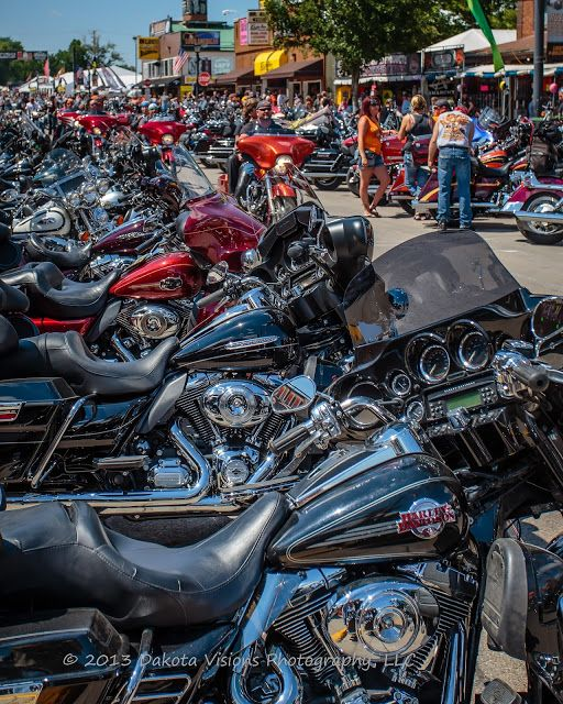 Images From Sturgis Motorcycle Rally 2013 Part I Riding
