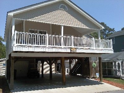 South Side 1800 Vacation Rental - VRBO 138815 - 3 BR Ocean ... on house built on pilings plans, raised piling house plans, raised cabin plans, cape house plans, ranch house plans, low country house plans, barn house plans, arch house plans, raised homes plans, raised camp house plans, raised house plans with elevators, raised house plans charleston sc, raised townhouse plans, narrow lot house plans, raised garage plans, raised garden plans, luxury house plans, raised floors, raised foundation homes, coastal house plans,