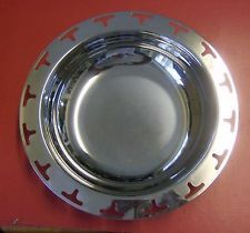 Stylish Italian MORINOX stainless steel vintage serving bowl T design