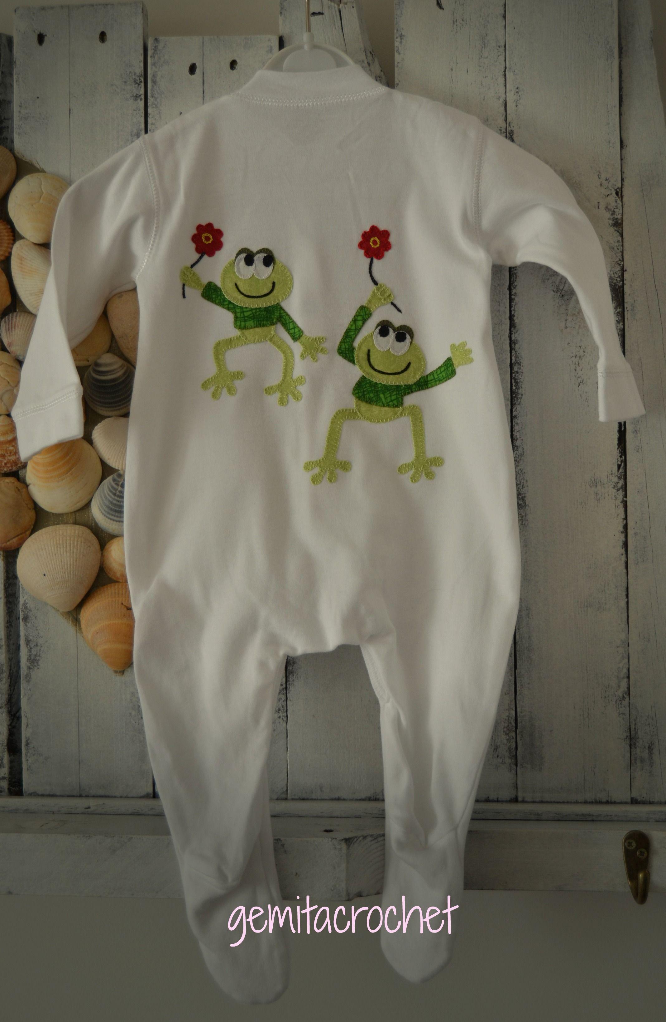 550e5f620 pijama para bebe con aplicaciones patchwork