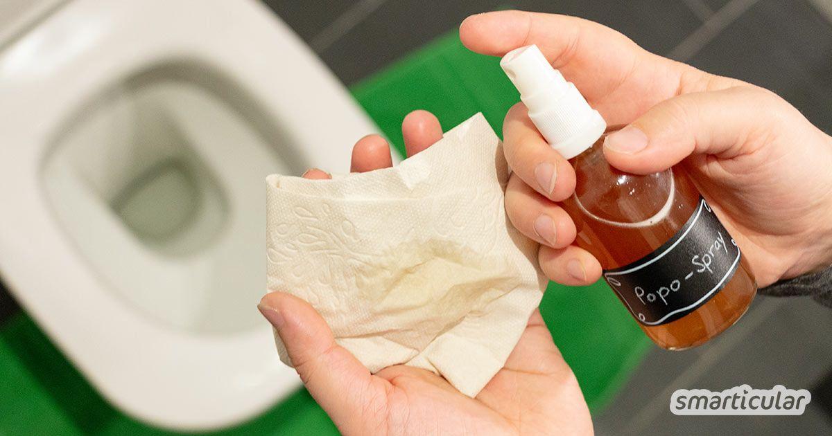 Popospray Selber Machen Ersetzt Feuchtes Toilettenpapier