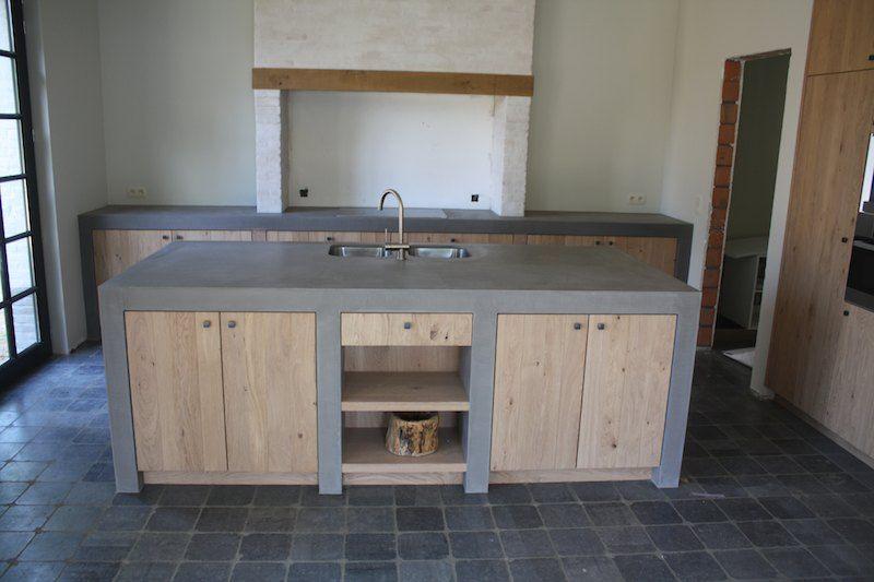 Keuken nieuwbouw texture painting alle mortex toepassingen en schilderwerken van een - Idee deco keuken ...