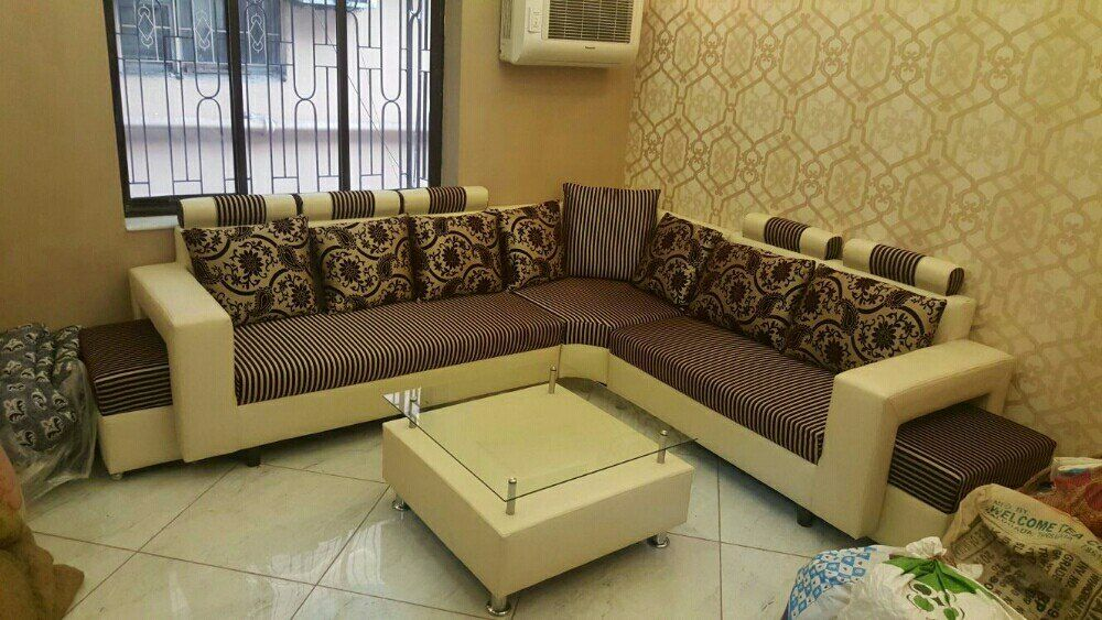 Indian Style Corner Sofa In 2020 Corner Sofa Set Sofa Set Designs Sofa Set