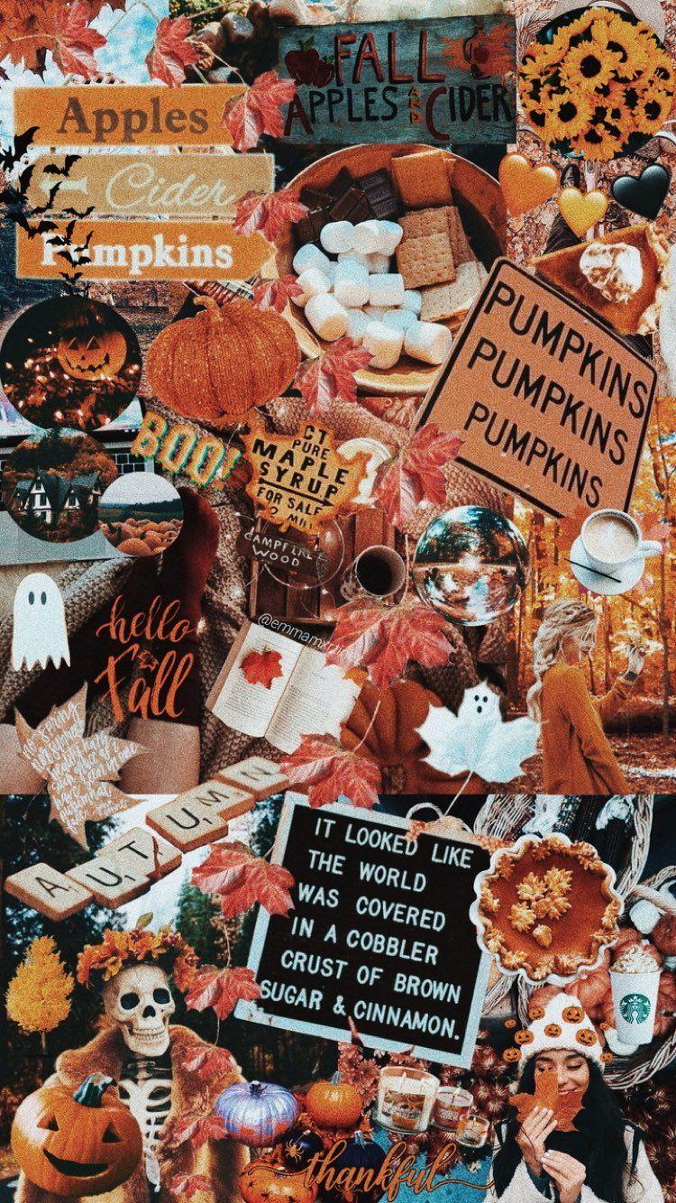 Renkliler Halloween Wallpaper Iphone Halloween Wallpaper Fall Wallpaper