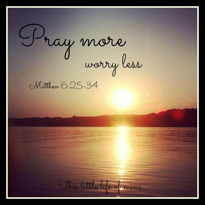Day 4 #faithchallenge Worry