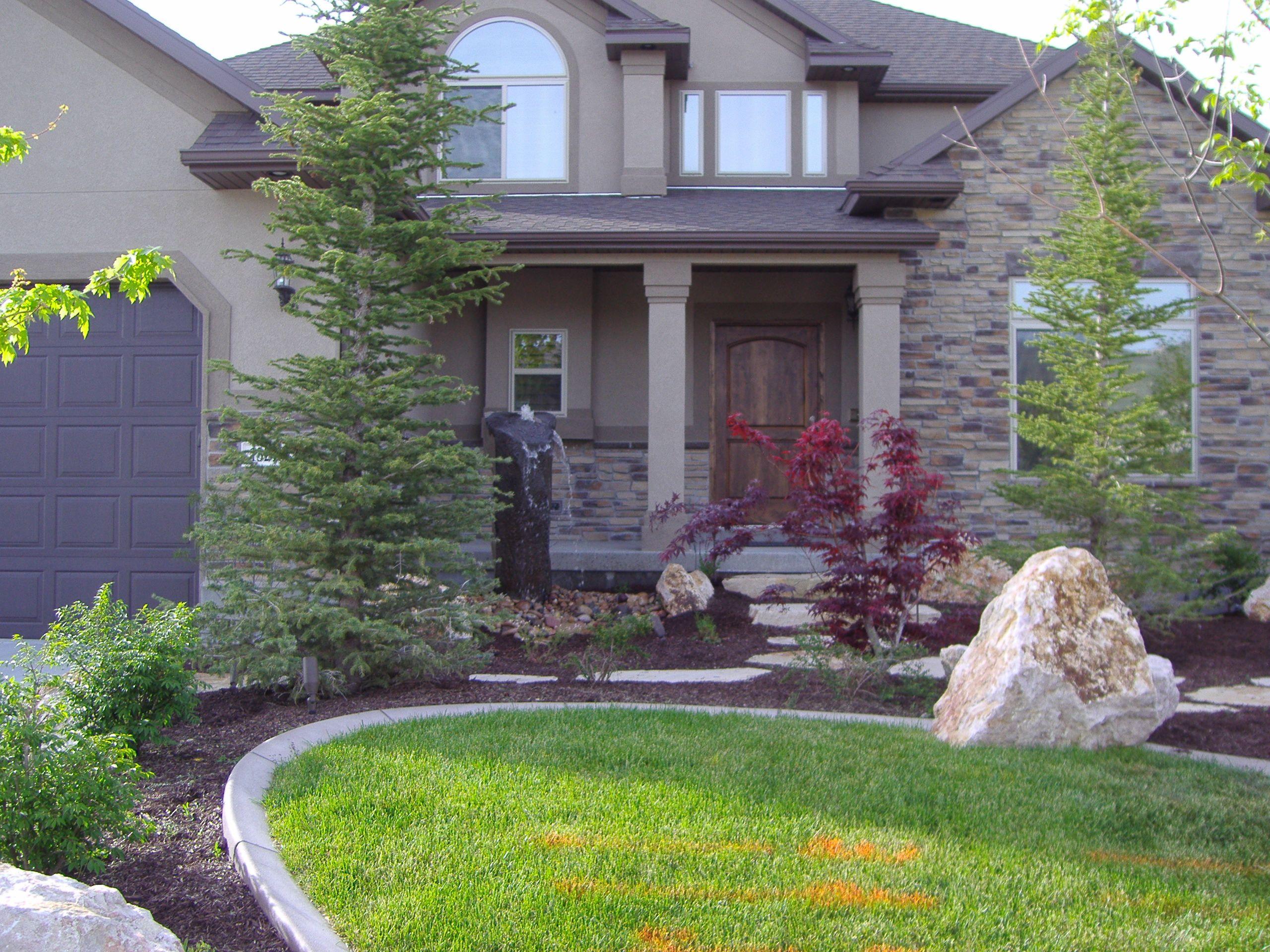 Tree selection Landscape design plans, Landscape design